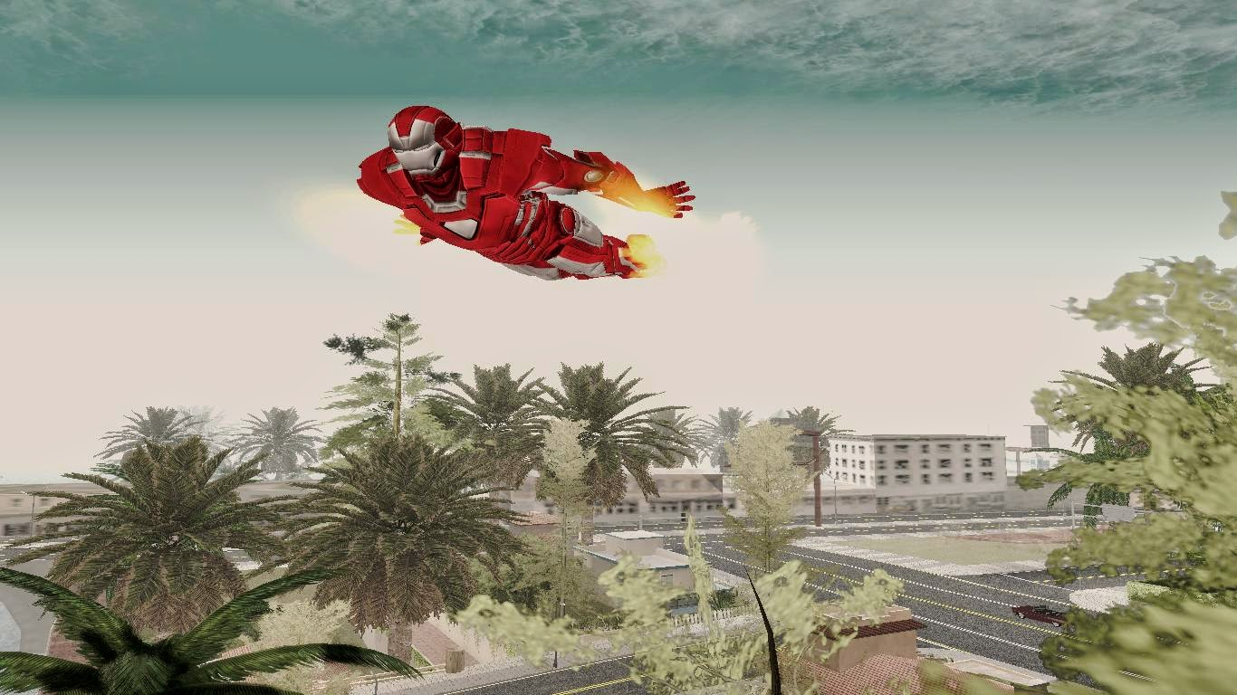 Iron Man Flight Gta San Andreas 3