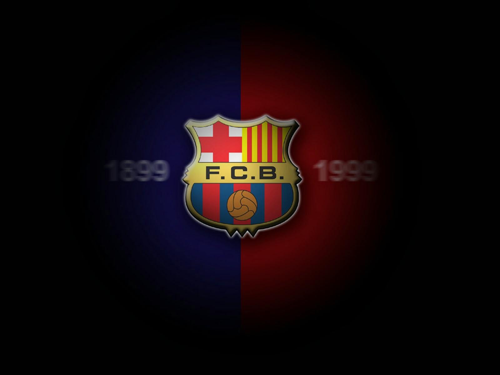 Fondo De Pantalla Escudo Barcelona 1899-1999