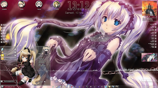 Seikon no Qwaser Theme Win 7 by Andrea_37