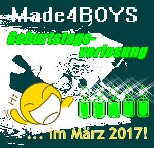 Made4Boys Geburtstag