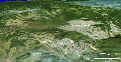 Cratera produzida por impacto de asteroide em São Paulo? Sim!
