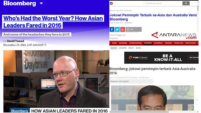 Jokowi Pemimpin Terbaik Hoax
