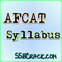 AFCAT 2012  Syllabus