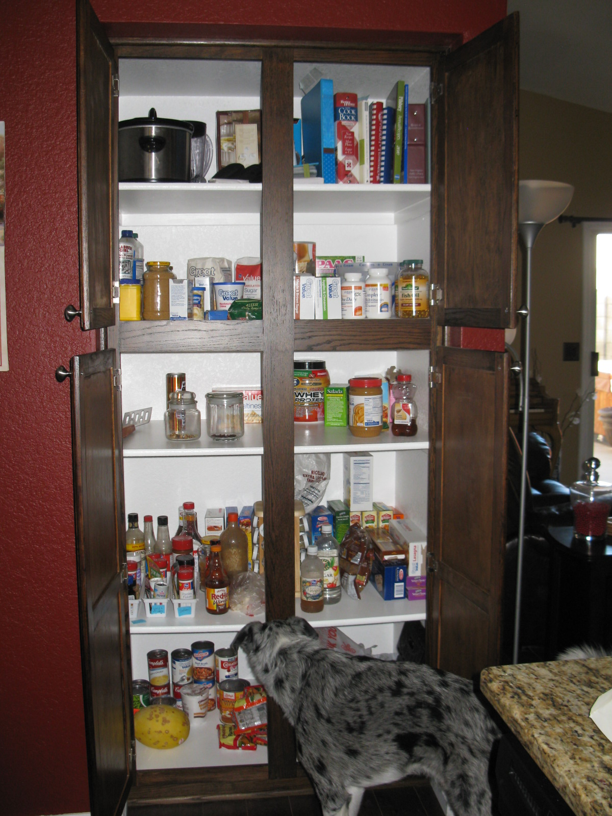 Kitchen Pantry Folding Doors