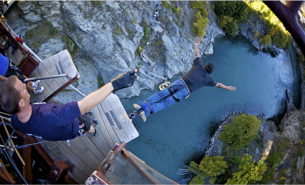 Pictures Bungee Jumping New Zealand Amazing Funny