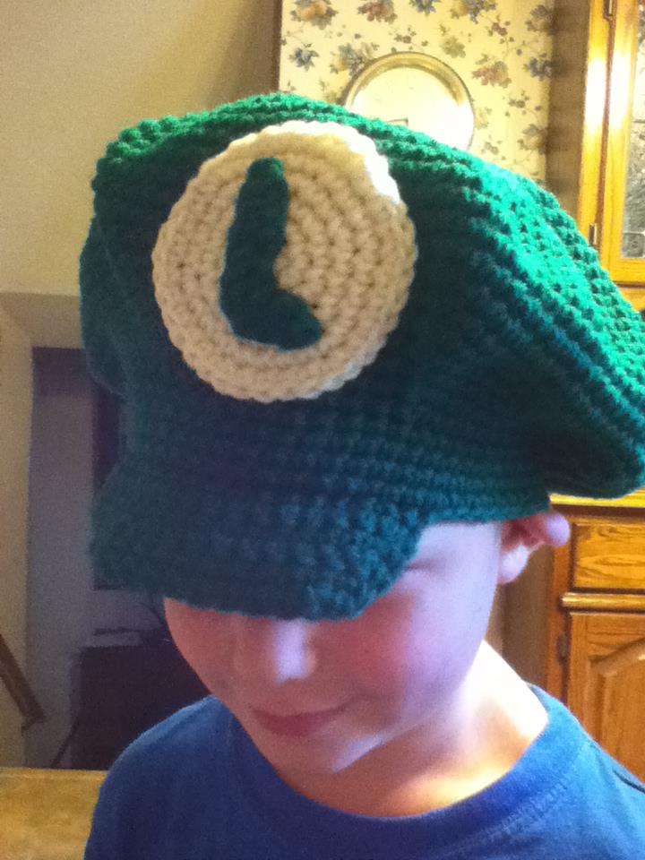 Laura Michels - Crazy Crochet Lady  Super Mario Luigi Hat Pattern 6df6cb6b31d