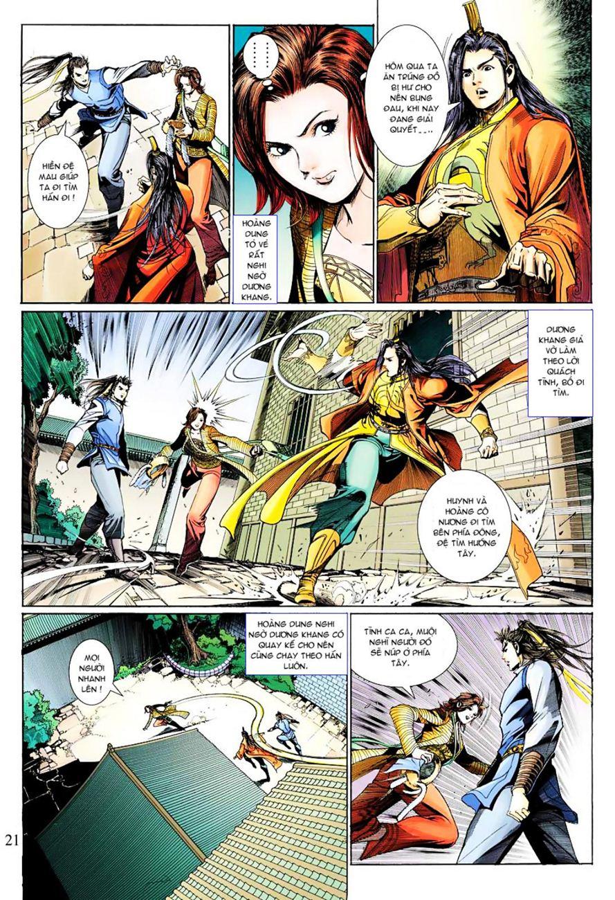 Anh Hùng Xạ Điêu anh hùng xạ đêu chap 38 trang 20