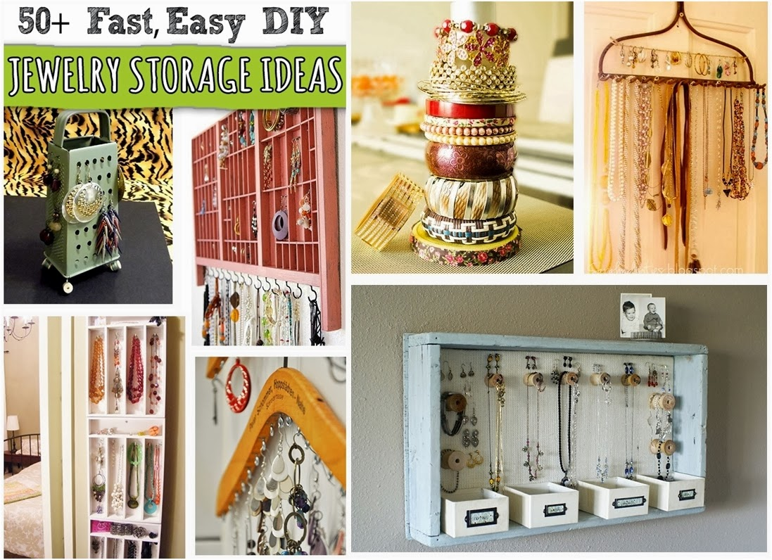 50 Creative DIY Jewelry Organizers