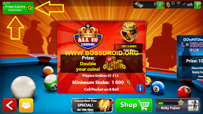 Cara Mendapat Koin 8 Ball Pool