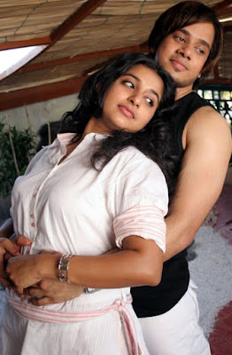 Meera Jasmine saree stills