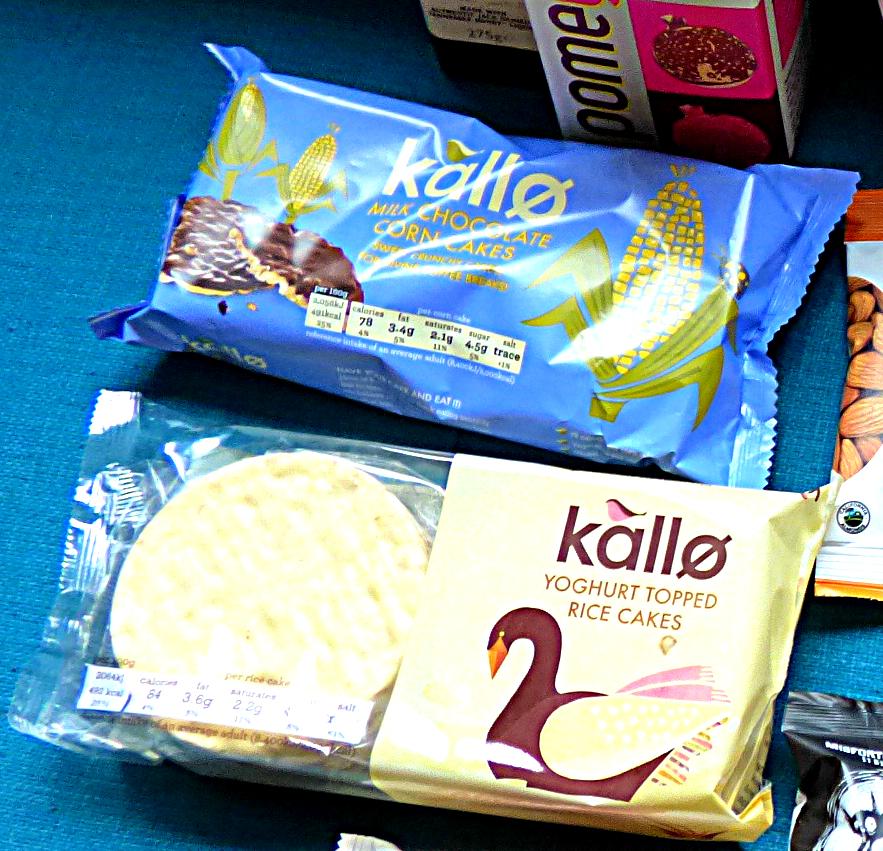 Kallo Milk Chocolate Corn Cakes