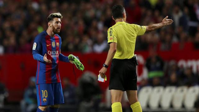 Barca Ajukan Banding terkait Kartu Kuning Messi