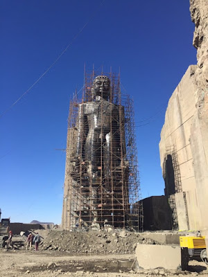 Guinness has recognised the new 108-feet idol of Lord Rishabhdeva, the first Teerthankar of Jains, as the world's tallest Jain statue.  The idol stands tall at Mangi Tungi, a Jain pilgrimage centre in North Maharashtra.