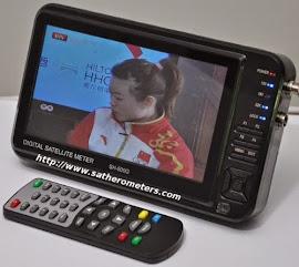 SatHero SH-500G Digital Satellite Signal Meter Kit DVB-S
