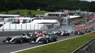 F1 (Formula 1) Austria, Grand Prix Red Bull Ring 2016