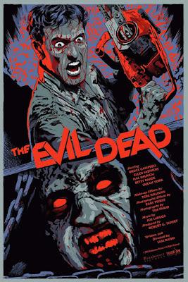 The Evil Dead Variant Screen Print by Francesco Francavilla & Silver Bow Gallery