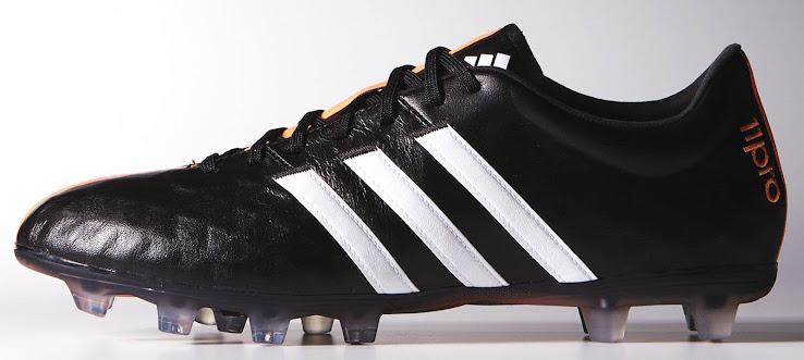 big sale 60798 b0fa0 ... wholesale adidas adipure 11pro black white flash orange c8a76 8e233