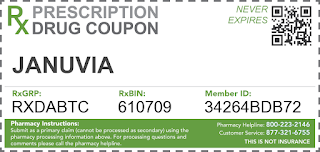 Januvia Rx Drug Coupon