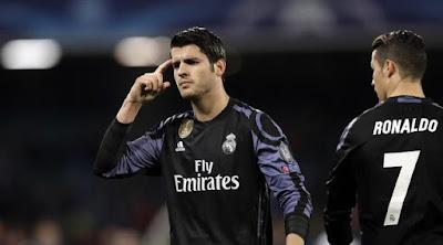 Tampil Gemilang tak Membuat Morata Mengisi Tim Utama Madrid