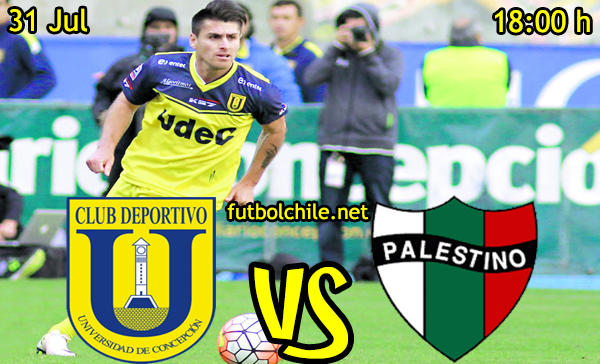 ver stream youtube movil android ios iphone table ipad windows mac linux resultado en vivo, online: Universidad de Concepción vs Palestino