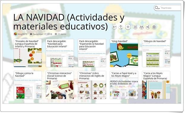 """""""11 actividades y materiales educativos de NAVIDAD"""""""