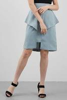 BerryBenka Rok Eldoris Skirt Green ANDHIMIND
