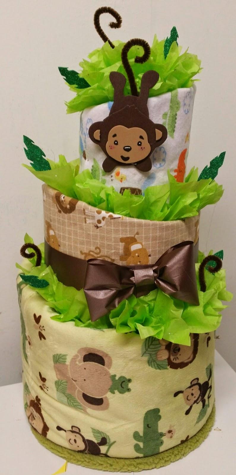 Adriana S Creations Topsy Blanket Diaper Cakes