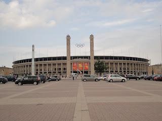 Het Olympiastadion in Berlijn