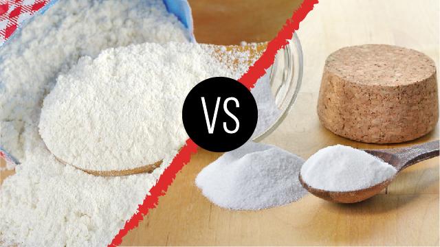 Diferencia entre polvo para hornear y bicarbonato