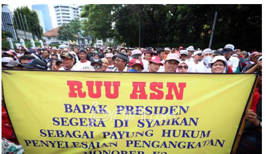 Honorer K2 dan PTT yang Sabar, Revisi UU ASN Pasti Dibahas