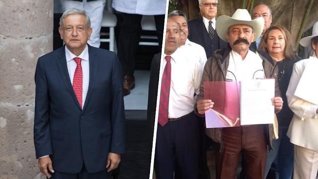 AMLO se reúne con descendientes de Emiliano Zapata