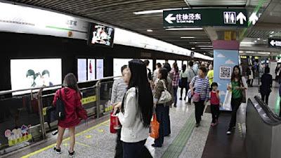 Metro at shanghai
