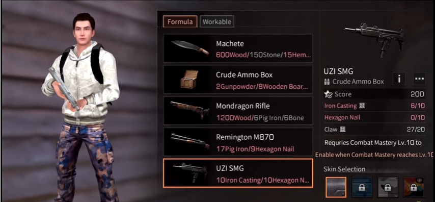 Easy and quick ways to make UZI weapons in the LifeAfter game