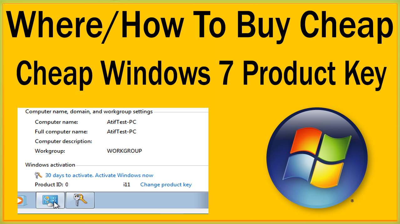 Where / How To Buy Windows 7 Cheap Product Key Online With ...