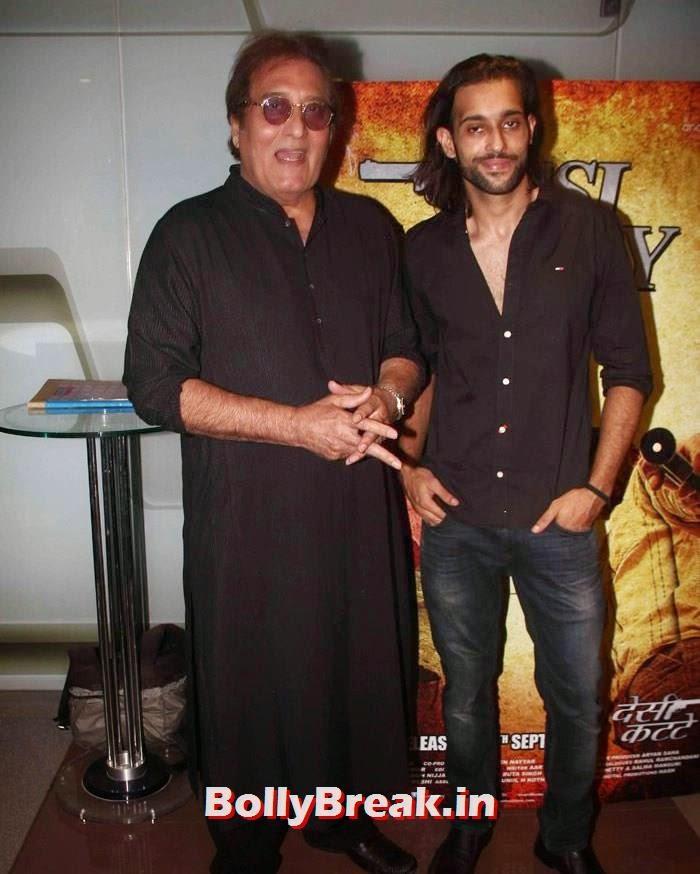 Vinod Khanna, Akhil Kapur, Sasha Agha, Shibani Kashyap new pics from 'Desi Kattey' Special Screening