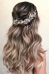 Wedding Hair Half Up Styles