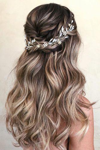 Wedding Hair Half Up Styles