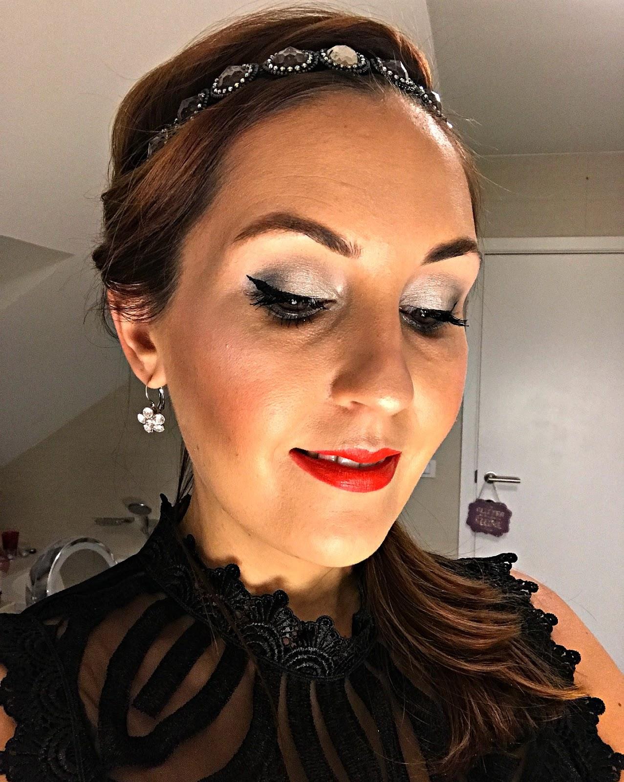 nieuwjaar make up look
