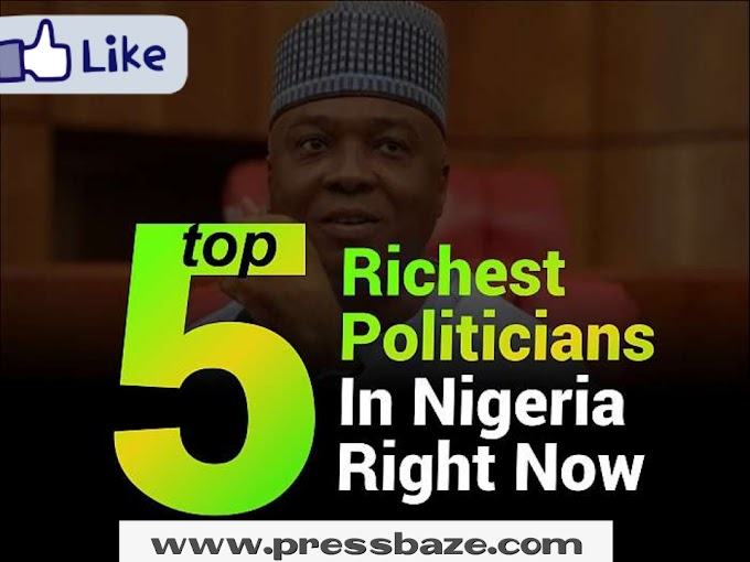 Top 5 Richest Politicians In Nigeria Right Now (3 & 5 Are Richer Than Many States)