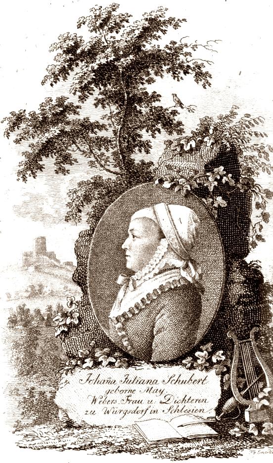 Dichterin Johanne Juliane Schubert Dort Erst Ist Vollkommne