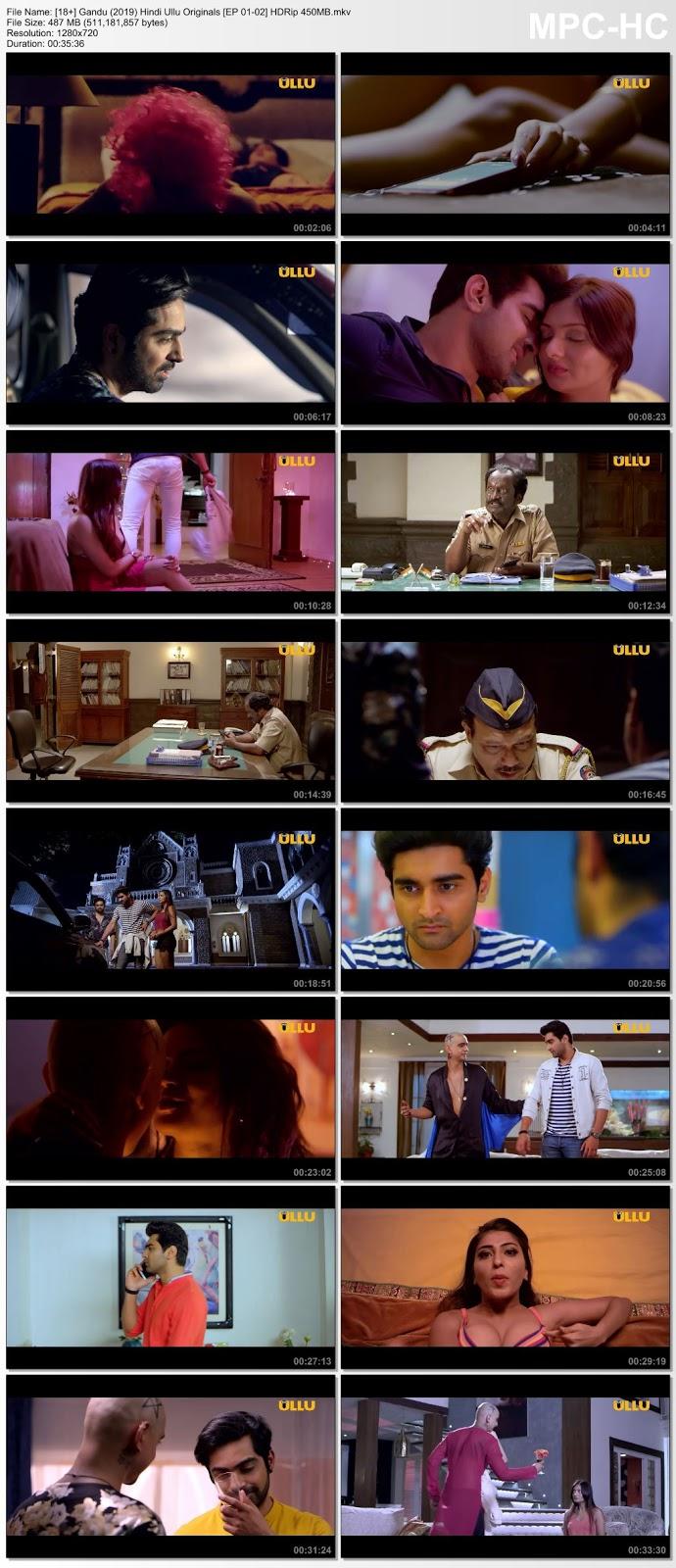 [18+] Gandu (2019) Hindi Ullu Originals [EP 01-02] HDRip 450MB Desirehub