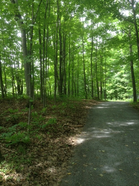Ottawa cycling and walking trail