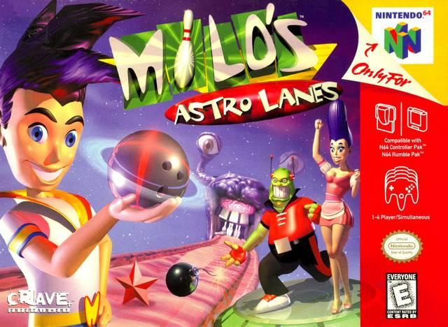 Milo s Astro Lanes