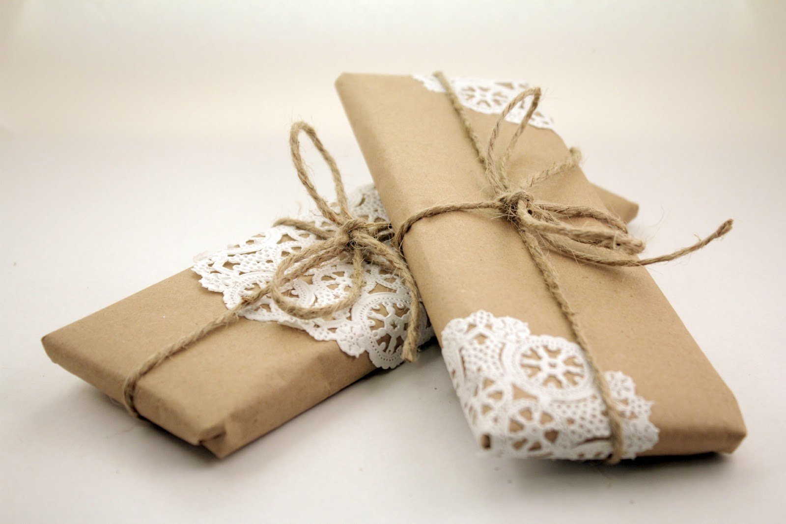 Small Thoughts Brown Paper Packages Tied Up With String