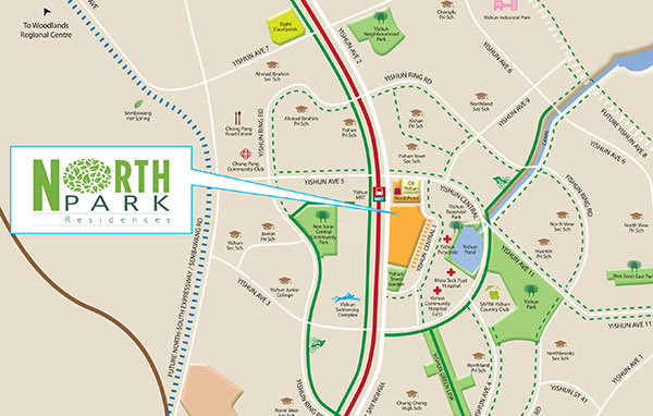 Northpark Residences Location