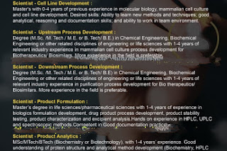 Good opportunity@ Dr. Reddy's Lab for multiple positions- send your resume now