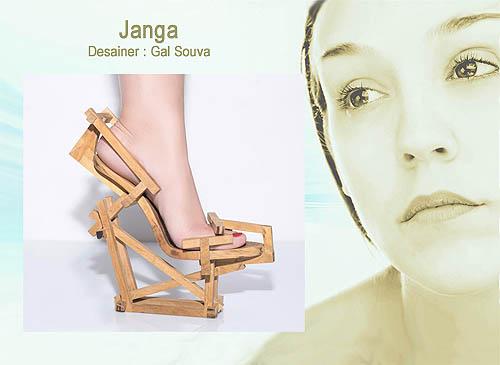Model desain sepatu wanita yang unik dan cantik