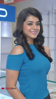 Telugu Actress Yamini Bhaskar Latest Pos in Blue Top and Black Skirt  0005.jpg