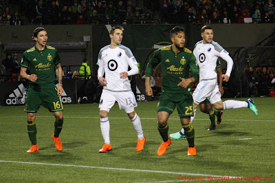 Timbers defense, backline