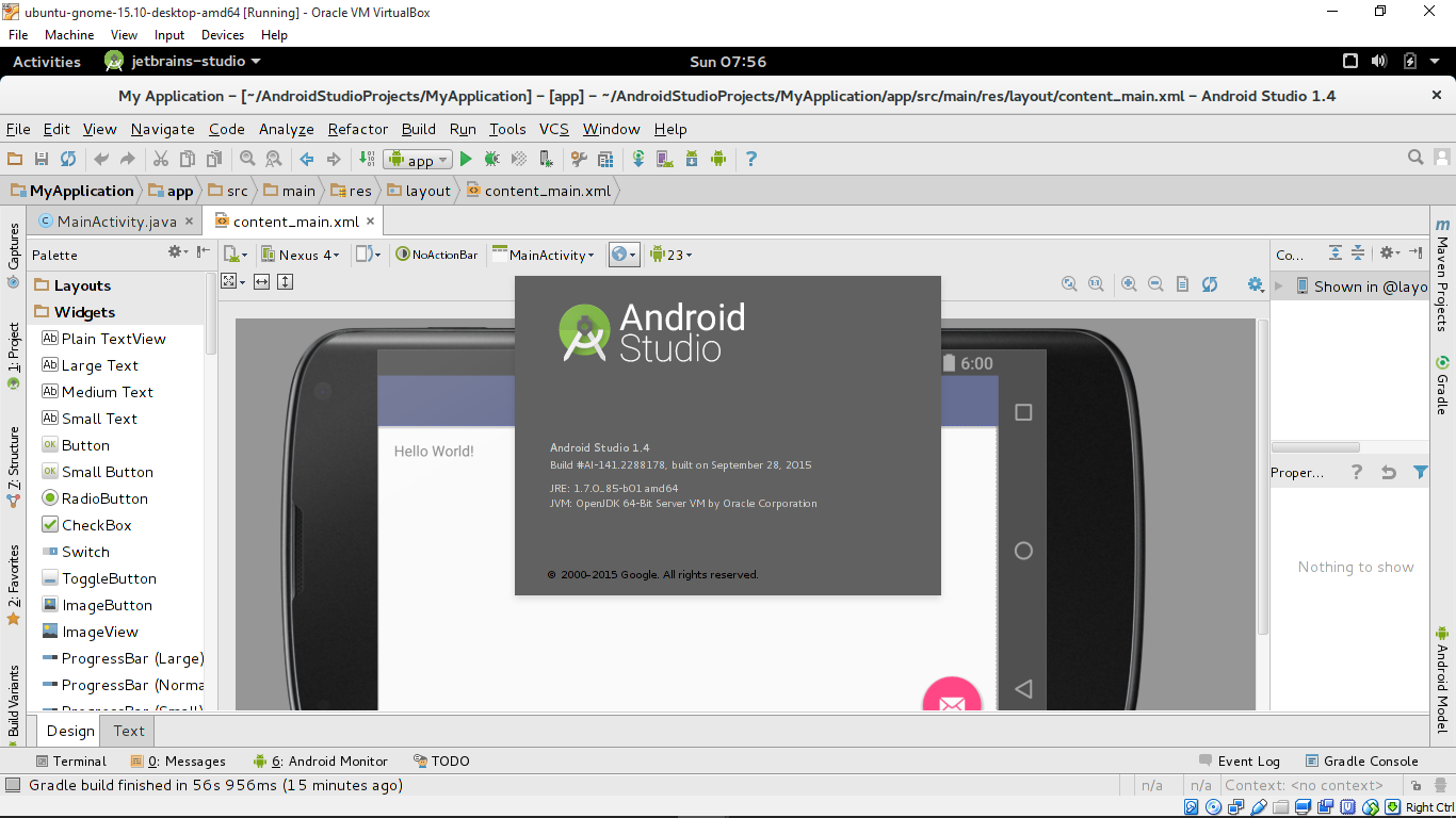 Android-er: Install Android Studio on 64-bit Ubuntu 15 10 with